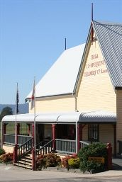 Roof of Bega Cheese Heritage Centre